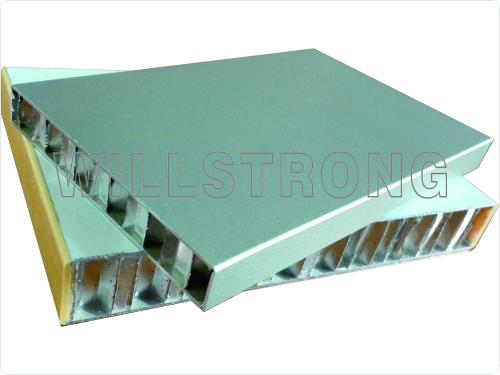 Fireproof A2 Grade Exterior AHP Honeycomb Composite Panels Width Up To 2000mm