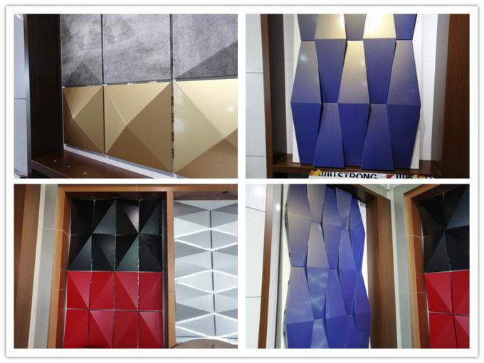 3D aluminum composite panel
