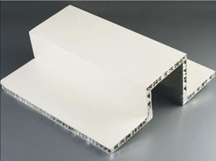 GBT 8624-2006 FRP Honeycomb Sandwich Panel , Honeycomb Insulation Panels