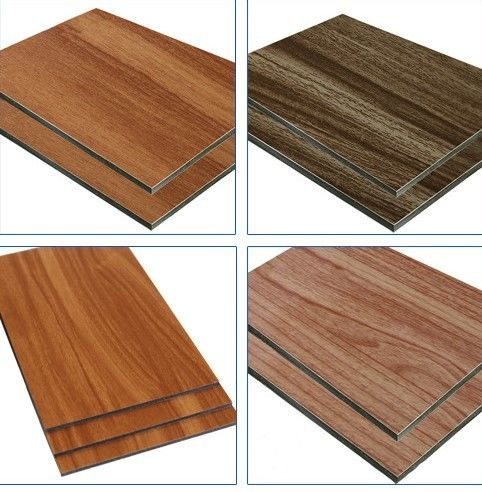 Wood Texture ACP Aluminum Composite Panel For Exterior And Interior Wall