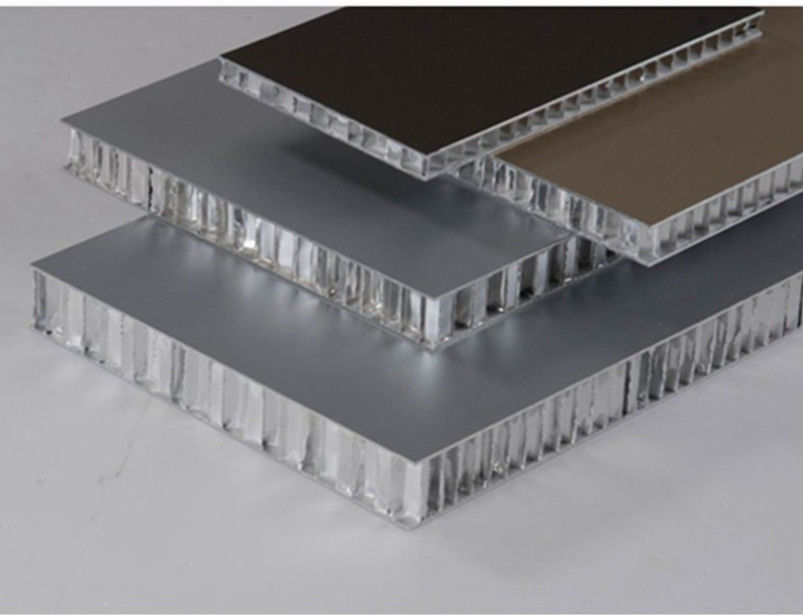 14mm Thickness 1.5*3m Aluminum Honeycomb Panels Architectural Ventilated Facades