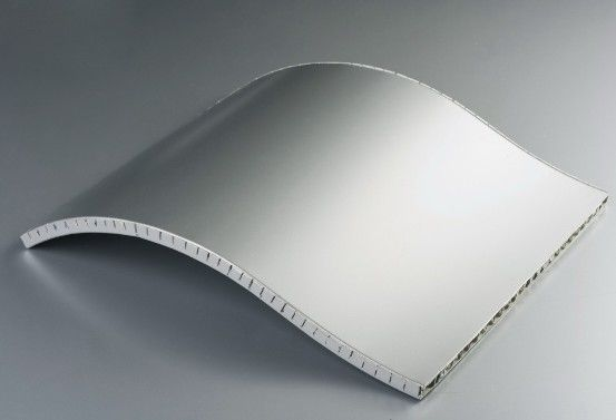 Multi Shaped 35mm Aluminum Honeycomb Sandwich Panels With High Compressive Strength