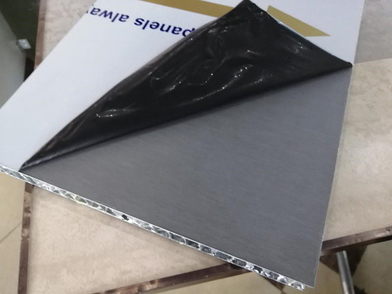 Thickness 20mm Ti zinc aluminum honeycomb panel for building decoration