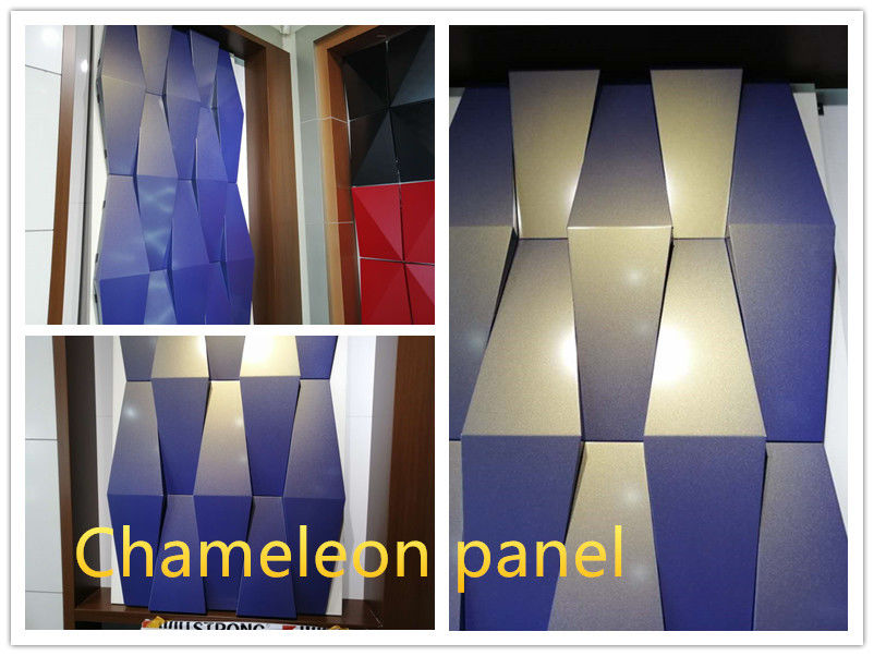 3D chameleon aluminum composite panel thickness 4mm aluminum thickness 0.4mm