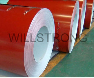 China 1220*2440mm Color Coated Aluminum Coil With AA5005 Aluminum Alloy For Construction factory