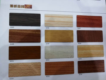 China Durable Wooden Aluminium Composite Panel For Hospital , Hotel , Office factory