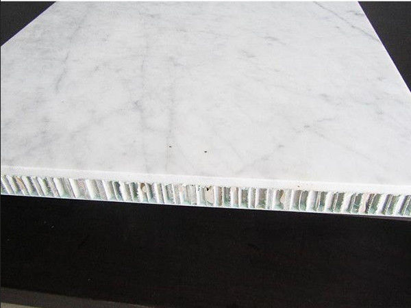 Stone AHP Marble Aluminium Honeycomb Composite Panel Fire Rated A1 1220mm Width