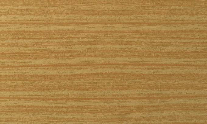 Wood Look Paneling White PE Core ACM Panels For Decoration